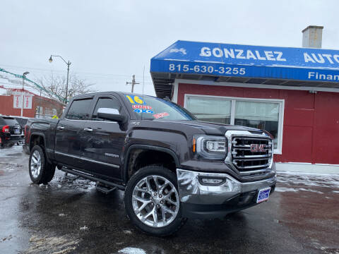 2016 GMC Sierra 1500 for sale at Gonzalez Auto Sales in Joliet IL