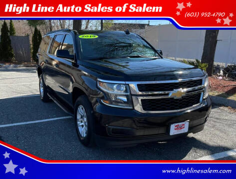 2019 Chevrolet Suburban for sale at High Line Auto Sales of Salem in Salem NH