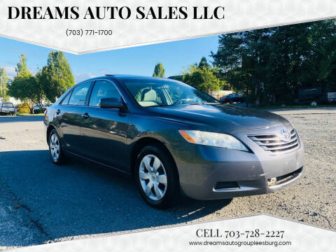 2009 Toyota Camry for sale at Dreams Auto Sales LLC in Leesburg VA