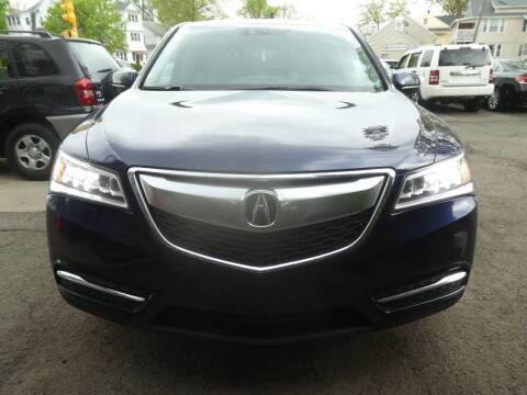 2014 Acura MDX for sale at Wheels and Deals in Springfield MA