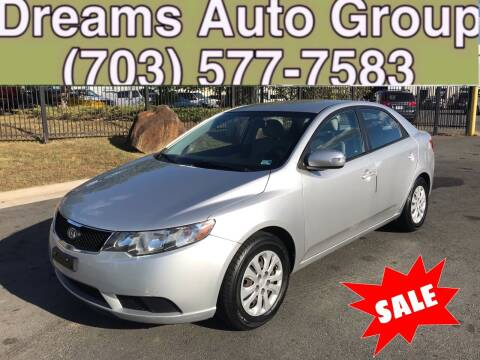 2010 Kia Forte for sale at Dreams Auto Group LLC in Sterling VA