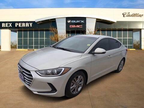 2017 Hyundai Elantra for sale at AutoJacksTX.com in Nacogdoches TX