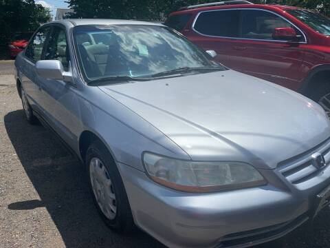 2002 Honda Accord for sale at Charles and Son Auto Sales in Totowa NJ