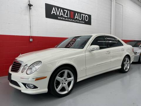 2009 Mercedes-Benz E-Class for sale at AVAZI AUTO GROUP LLC in Gaithersburg MD