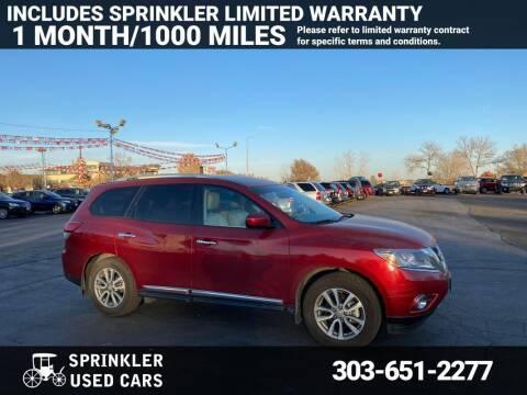 2015 Nissan Pathfinder for sale at Sprinkler Used Cars in Longmont CO