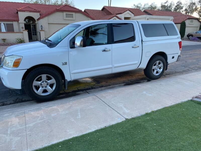 2004 Nissan Titan for sale at EV Auto Sales LLC in Sun City AZ