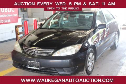 2005 Toyota Camry for sale at Waukegan Auto Auction in Waukegan IL