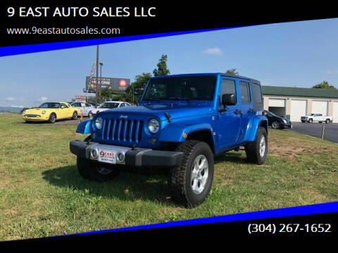 2015 Jeep Wrangler Unlimited for sale at 9 EAST AUTO SALES LLC in Martinsburg WV