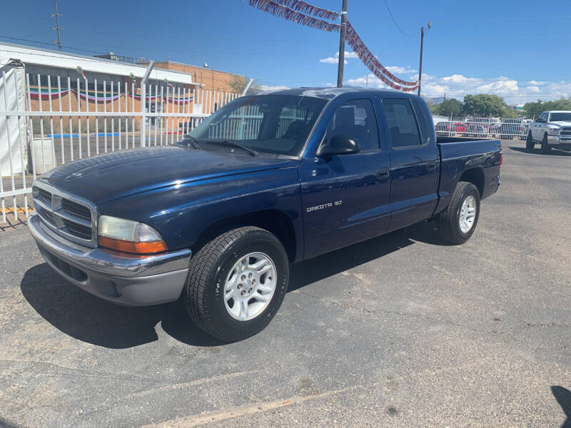 2001 Dodge Dakota for sale at Robert B Gibson Auto Sales INC in Albuquerque NM