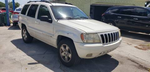 2001 Jeep Grand Cherokee for sale at FLORIDA USED CARS INC in Fort Myers FL