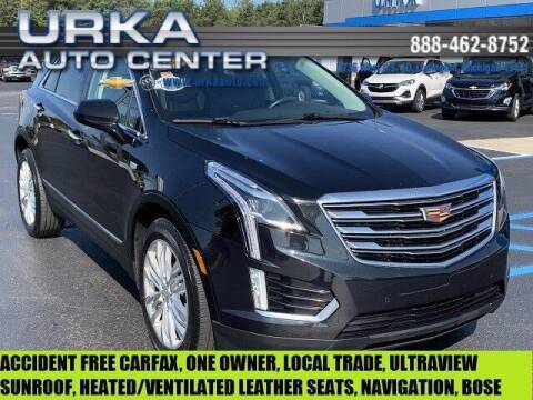 2017 Cadillac XT5 for sale at Urka Auto Center in Ludington MI
