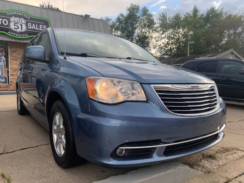 2012 Chrysler Town and Country for sale at LOT 51 AUTO SALES in Madison WI