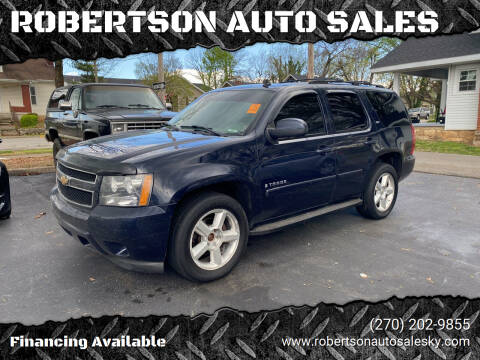 2007 Chevrolet Tahoe for sale at ROBERTSON AUTO SALES in Bowling Green KY