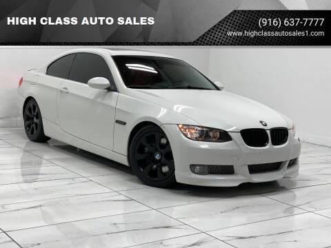 2007 BMW 3 Series for sale at HIGH CLASS AUTO SALES in Rancho Cordova CA