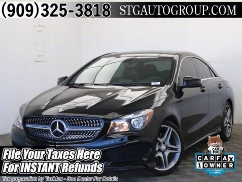 2014 Mercedes-Benz CLA for sale at STG Auto Group in Montclair CA