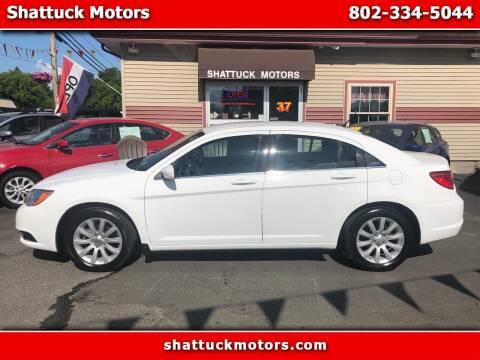 2014 Chrysler 200 for sale at Shattuck Motors in Newport VT