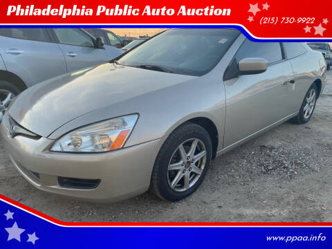 2003 Honda Accord for sale at Philadelphia Public Auto Auction in Philadelphia PA