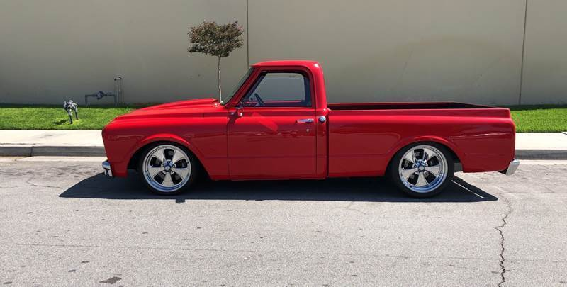1969 Chevrolet C/K 10 Series for sale at HIGH-LINE MOTOR SPORTS in Brea CA