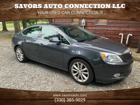 2012 Buick Verano for sale at SAVORS AUTO CONNECTION LLC in East Liverpool OH