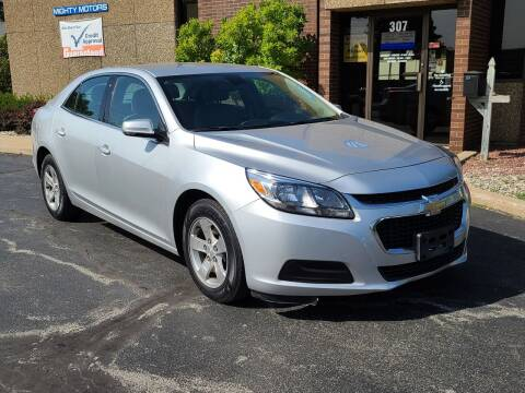 2015 Chevrolet Malibu for sale at Mighty Motors in Adrian MI