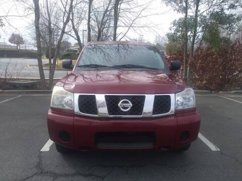 2004 Nissan Titan for sale at Easy Auto Sales LLC in Charlotte NC