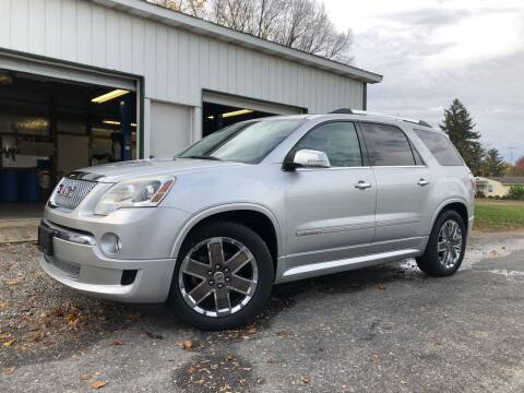 2012 GMC Acadia for sale at Purpose Driven Motors in Sidney OH