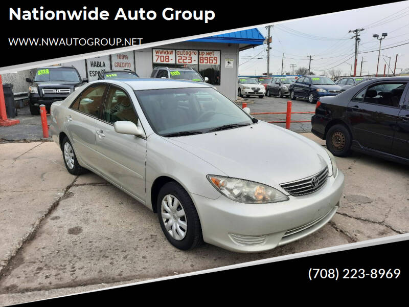 2005 Toyota Camry for sale at Nationwide Auto Group in Melrose Park IL