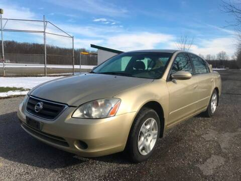 2004 Nissan Altima for sale at GOOD USED CARS INC in Ravenna OH