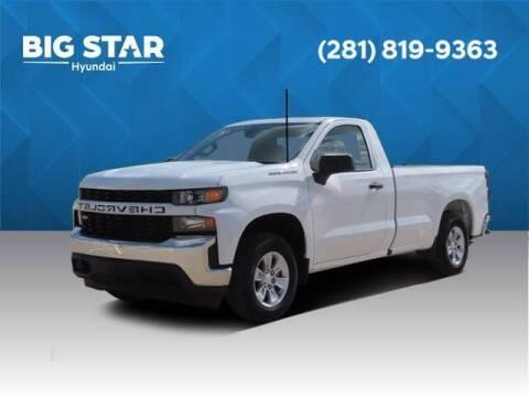 2020 Chevrolet Silverado 1500 for sale at BIG STAR HYUNDAI in Houston TX