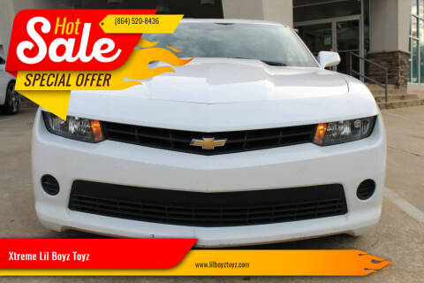 2015 Chevrolet Camaro for sale at Xtreme Lil Boyz Toyz in Greenville SC