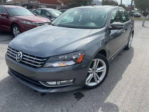 2013 Volkswagen Passat for sale at CHECK  AUTO INC. in Tampa FL
