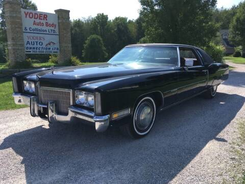 1971 Cadillac Eldorado for sale at Yoder's Auto Connection LTD in Gambier OH