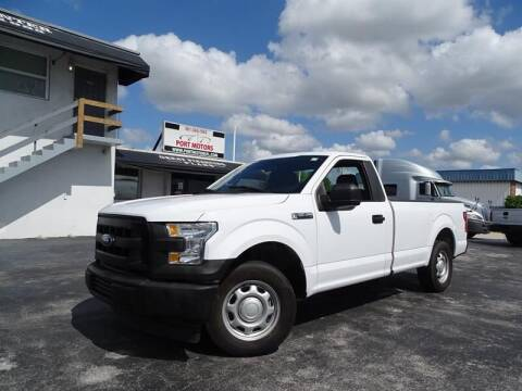 2017 Ford F-150 for sale at Port Motors in West Palm Beach FL