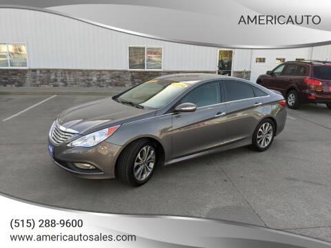 2014 Hyundai Sonata for sale at AmericAuto in Des Moines IA
