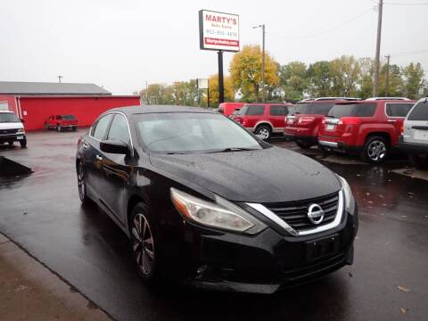 2017 Nissan Altima for sale at Marty's Auto Sales in Savage MN