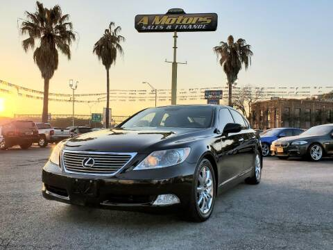 2007 Lexus LS 460 for sale at A MOTORS SALES AND FINANCE in San Antonio TX