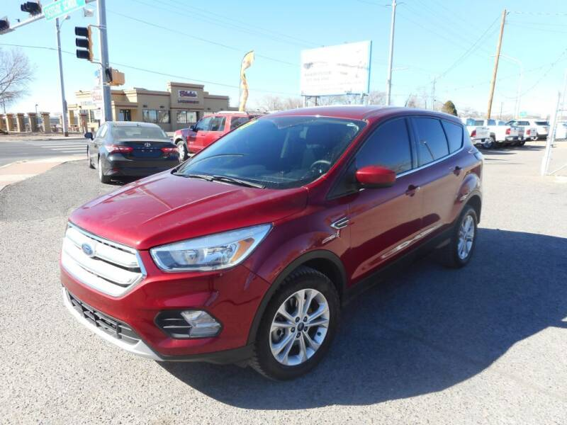 2017 Ford Escape for sale at AUGE'S SALES AND SERVICE in Belen NM