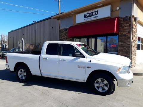 2016 RAM Ram Pickup 1500 for sale at 719 Automotive Group in Colorado Springs CO