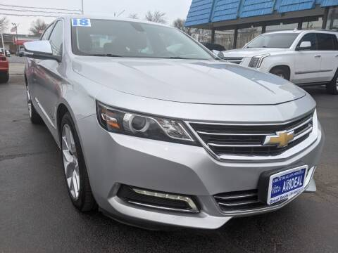 2018 Chevrolet Impala for sale at GREAT DEALS ON WHEELS in Michigan City IN