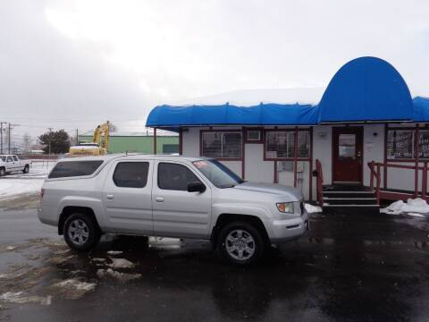 2008 Honda Ridgeline for sale at Jim's Cars by Priced-Rite Auto Sales in Missoula MT