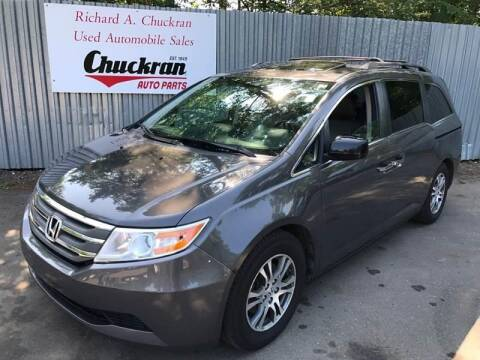 2013 Honda Odyssey for sale at Chuckran Auto Parts Inc in Bridgewater MA