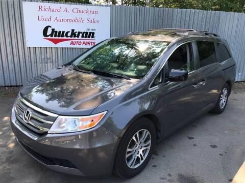 2013 Honda Odyssey for sale at Chuckran Auto Parts Inc in Bridgewater MA