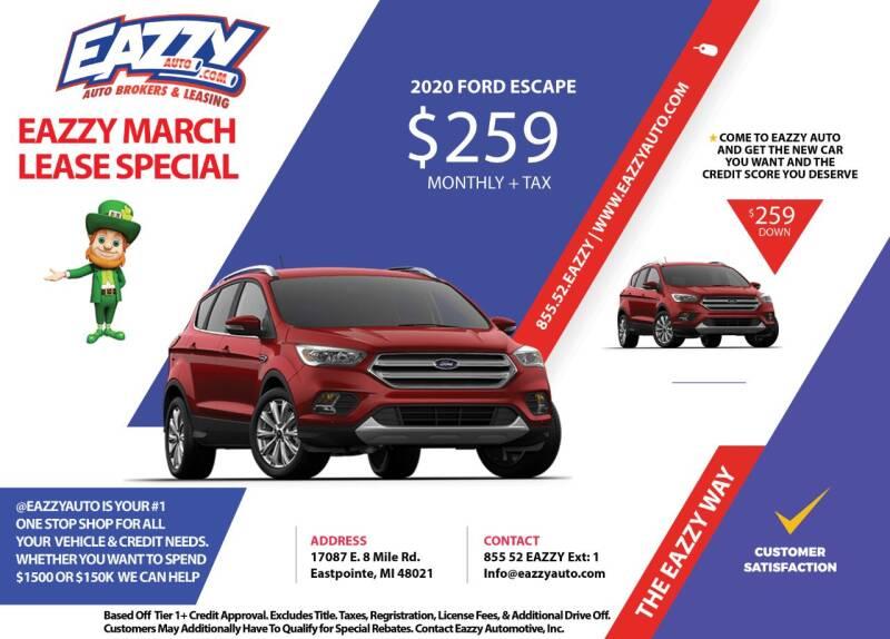 2020 Ford Escape for sale in Eastpointe, MI