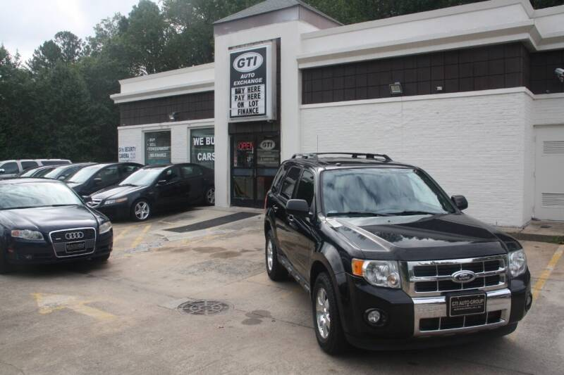 2012 Ford Escape for sale at GTI Auto Exchange in Durham NC