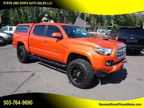 2016 Toyota Tacoma for sale at Steve & Sons Auto Sales in Happy Valley OR