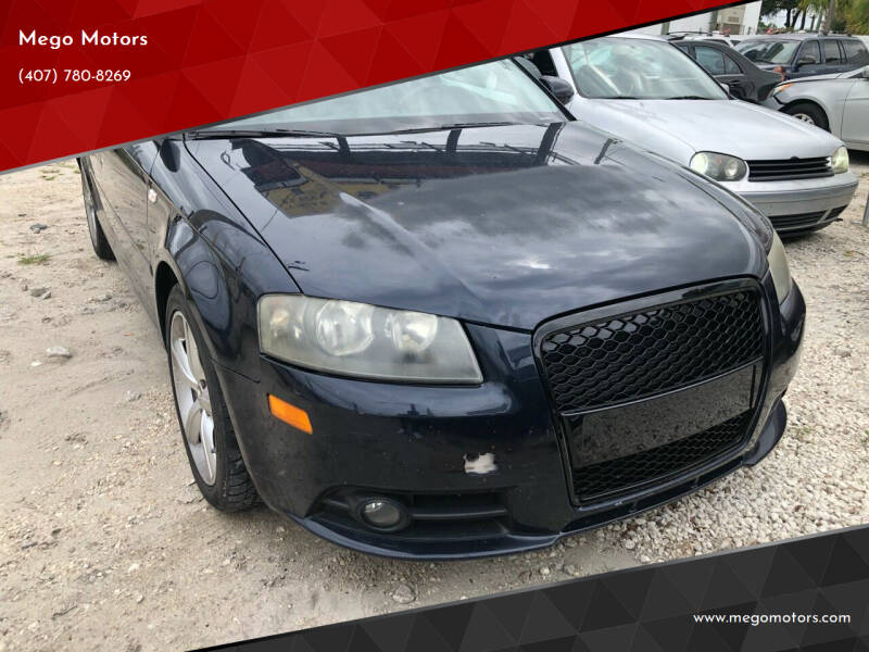 2008 Audi A3 for sale at Mego Motors in Orlando FL