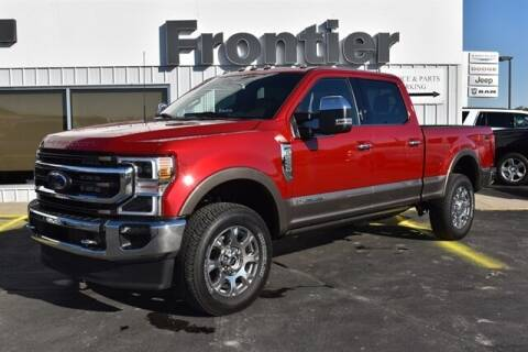 2021 Ford F-350 Super Duty for sale at Frontier Motors Automotive, Inc. in Winner SD