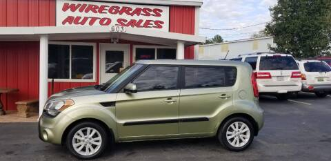 2012 Kia Soul for sale at WIREGRASS AUTO SALES in Dothan AL