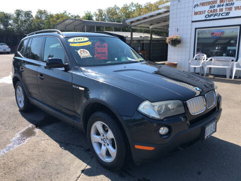 2007 BMW X3 for sale at Freeborn Motors in Lafayette OR