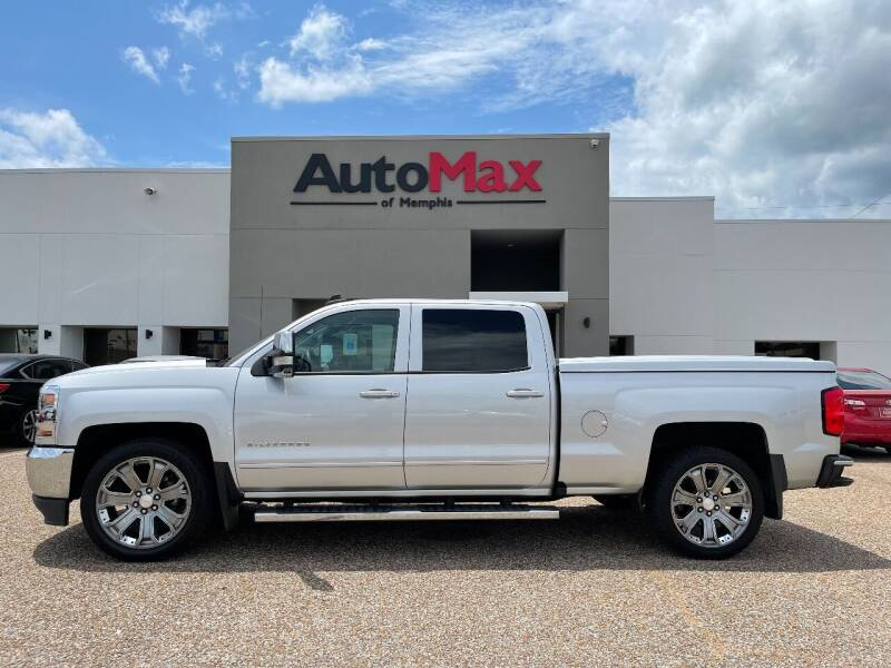 2018 Chevrolet Silverado 1500 for sale at AutoMax of Memphis - V Brothers in Memphis TN